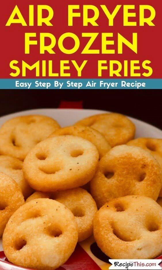 Air Fryer Frozen Smiley Fries
