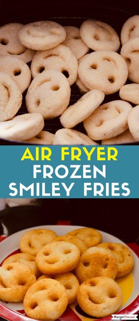 Air Fryer Frozen Smiley Fries recipe
