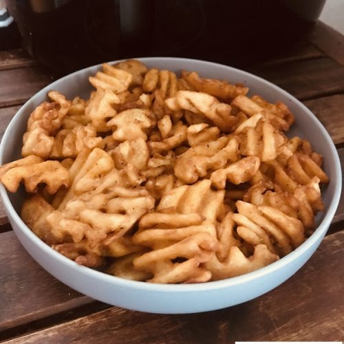 Air Fryer Frozen Waffle Fries