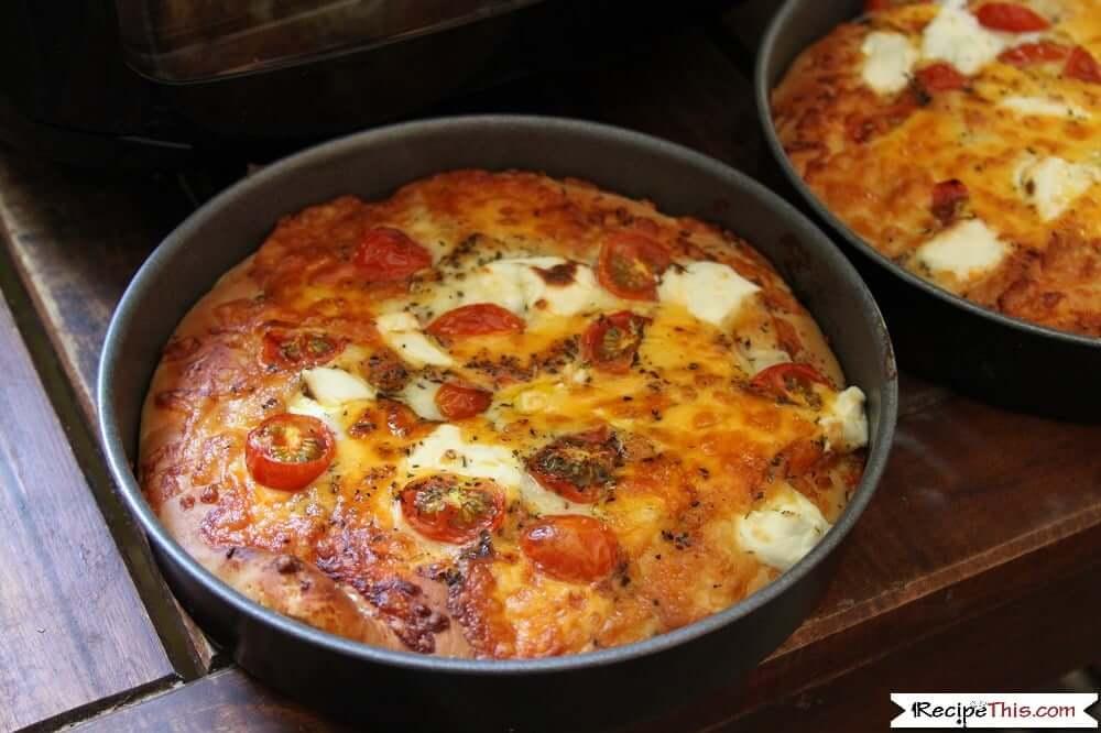 Air Fryer Homemade Pizza
