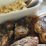 Air Fryer Jerk Chicken With Pumpkin Couscous