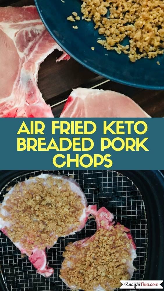 Keto Breaded Pork Chops In The Air Fryer