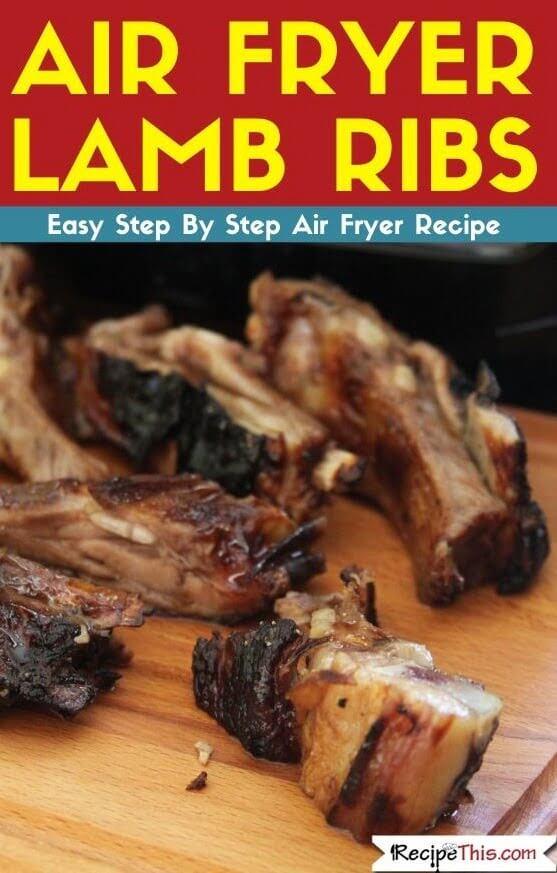 Air Fryer Lamb Ribs air fryer recipe