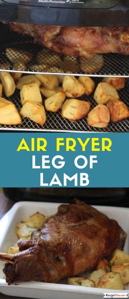 Air Fryer Leg Of Lamb Recipe