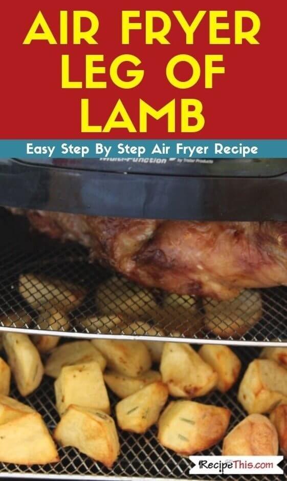 Air Fryer Leg Of Lamb air fryer oven recipe