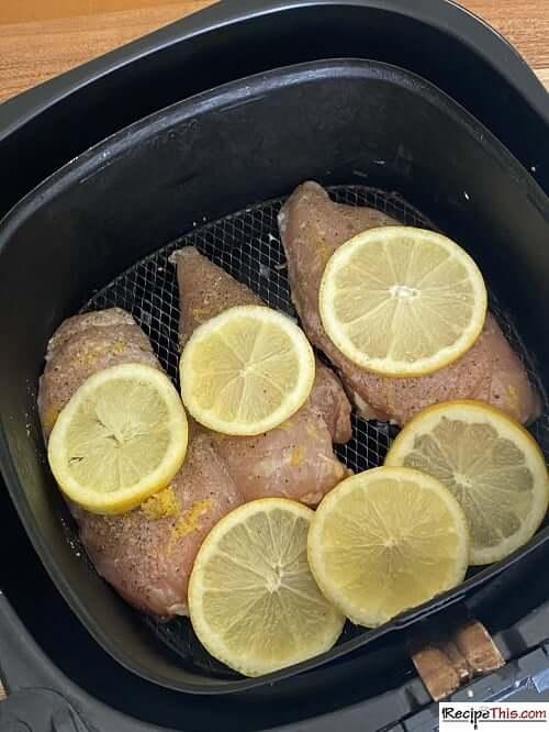 Air Fryer Lemon Pepper Chicken Breast
