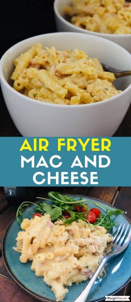 Air Fryer Mac & Cheese