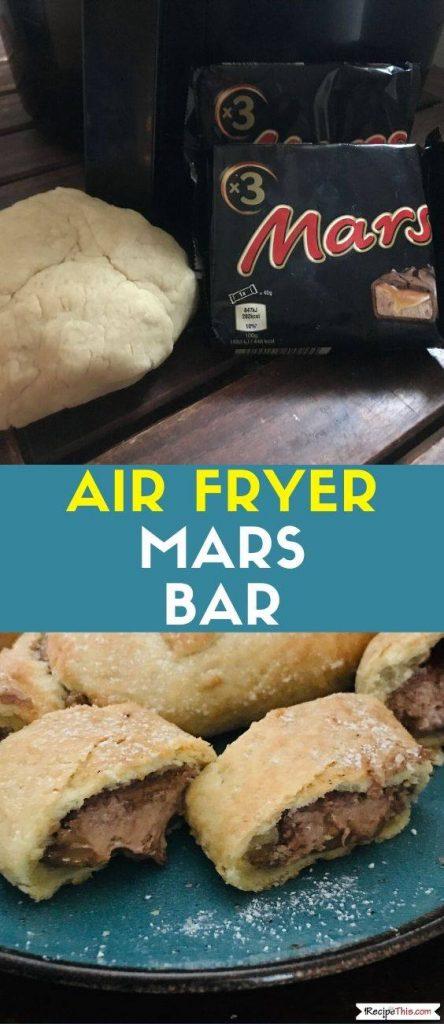 Air Fryer Mars Bar recipe