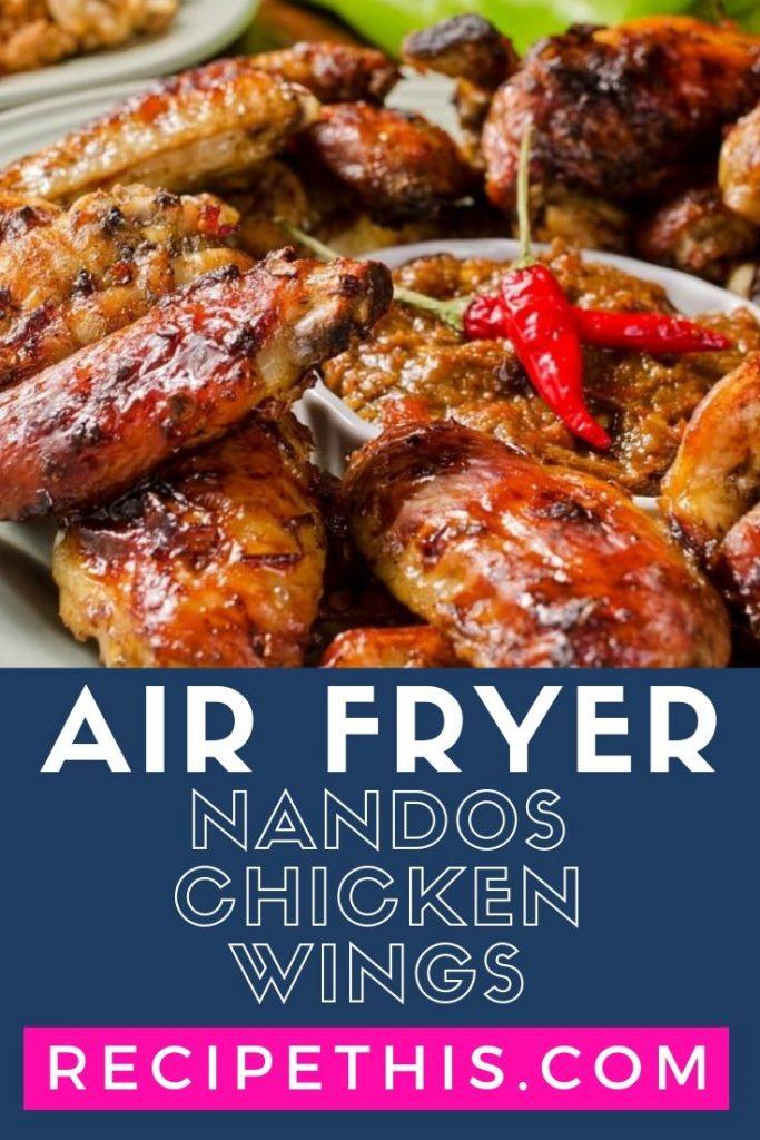 Air Fryer Nandos Chicken Wings