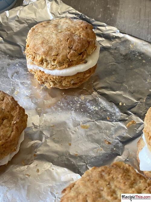 Air Fryer Oatmeal Crème Pies