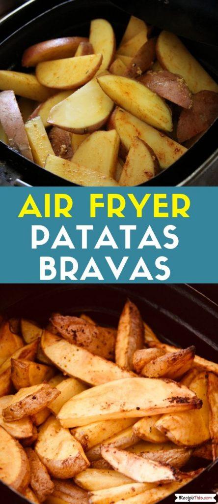 Air Fryer Patatas Bravas recipe