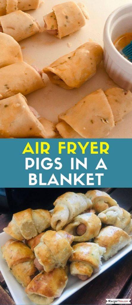 Air Fryer Pigs In A Blanket recipe