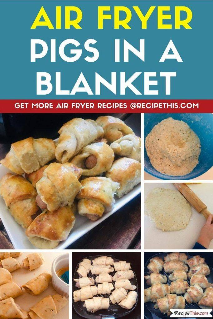 Air Fryer Pigs In A Blanket step by step