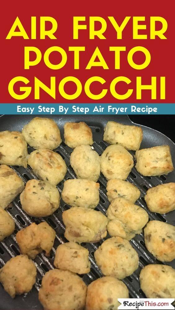 Air Fryer Potato Gnocchi