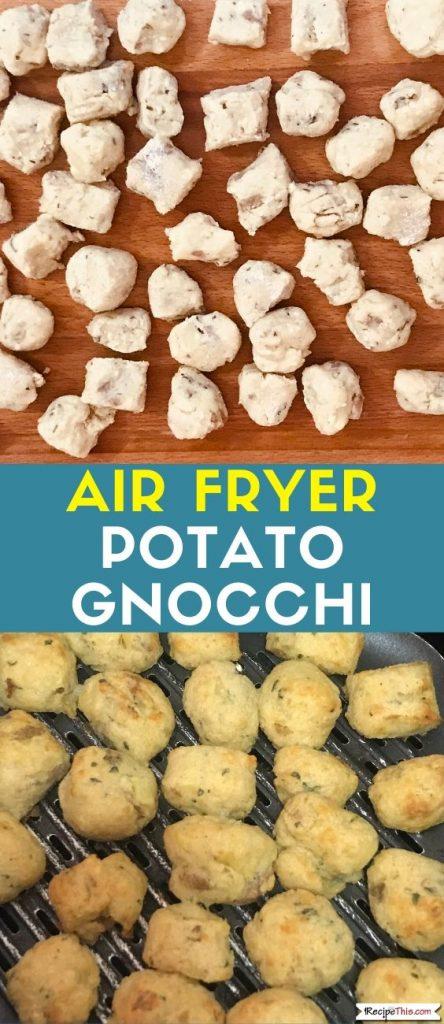 Air Fryer Potato Gnocchi recipe