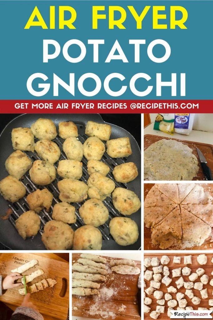 Air Fryer Potato Gnocchi step by step