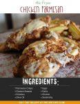 Air Fryer Chicken Parmesan & Fries
