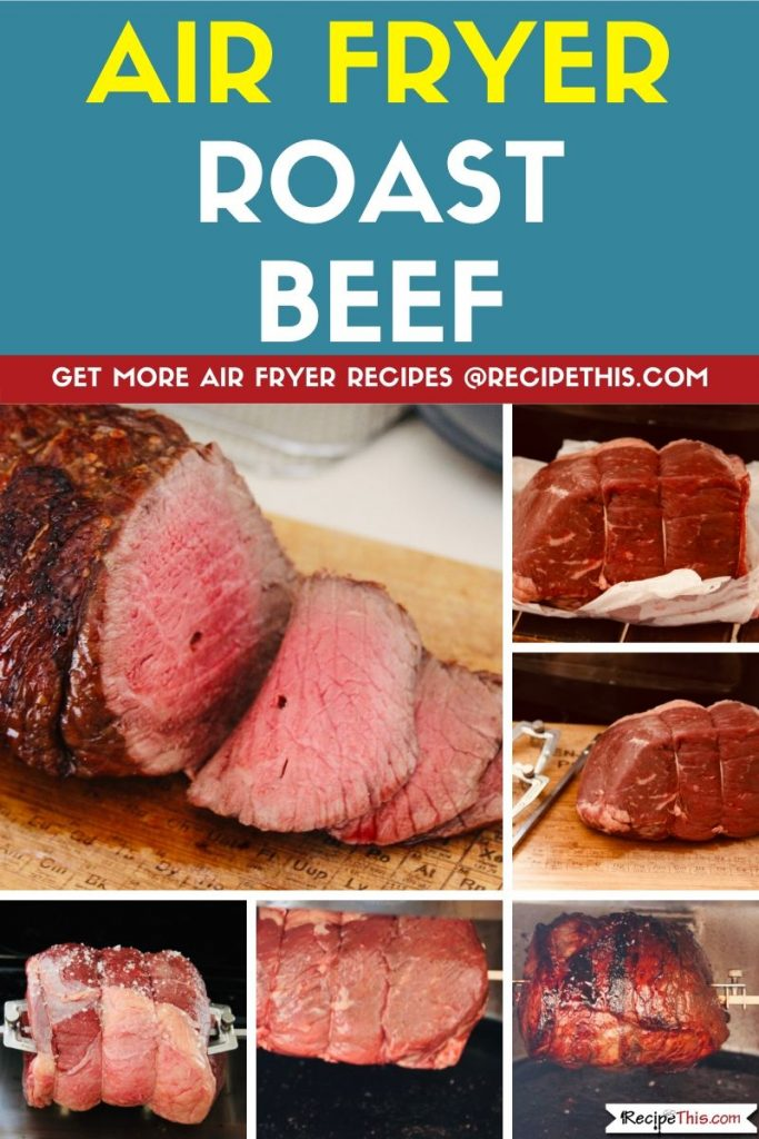 Air Fryer Roast Beef step by step
