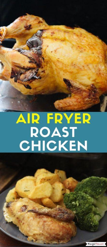 Air Fryer Roast Chicken Recipe