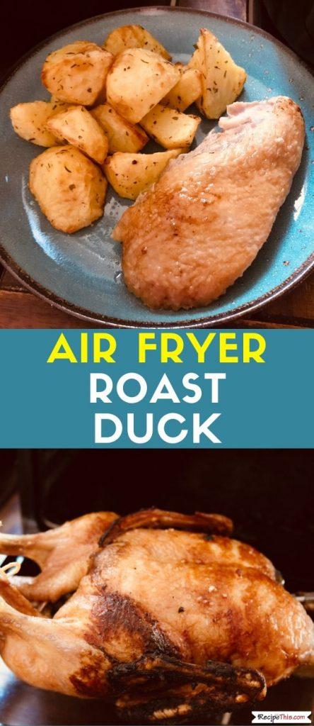 Air Fryer Roast Duck