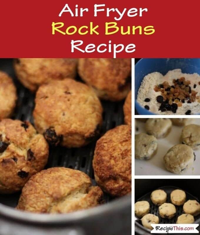 Air Fryer Rock Buns