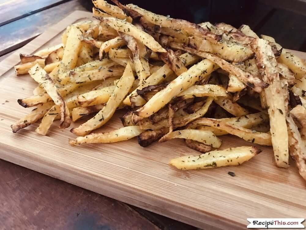 Air Fryer Rutabaga Fries