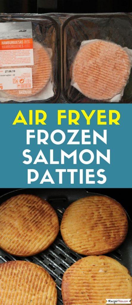 Air Fryer Salmon Patties air fryer recipe