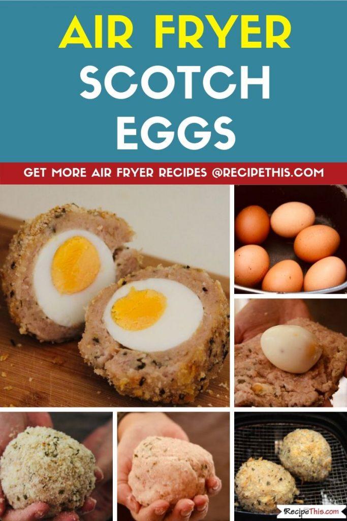 Air Fryer Scotch Eggs step by step