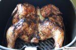 Air Fryer Spatchcock Chicken (Butterflied Chicken)