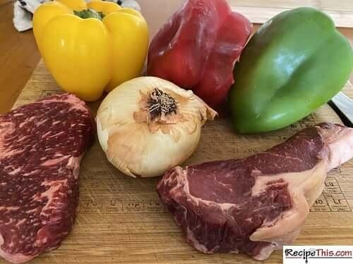 Air Fryer Steak Fajitas Ingredients & Gadgets