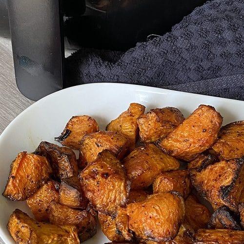 Air Fryer Sweet Potato Cubes