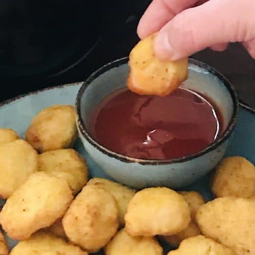Air Fryer Sweet & Sour Chicken Balls