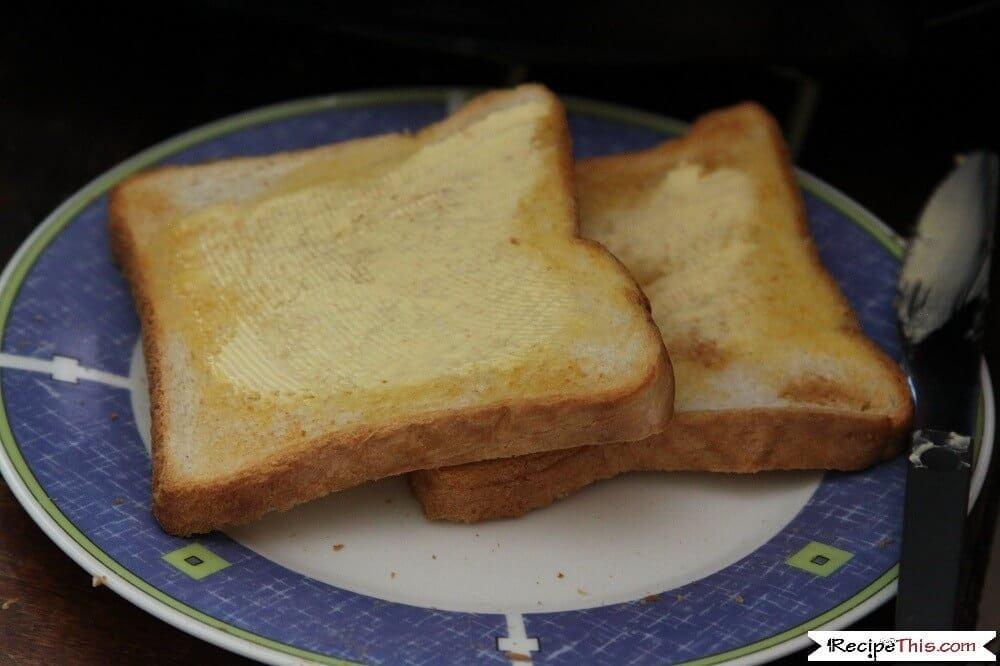 Air Fryer Toast