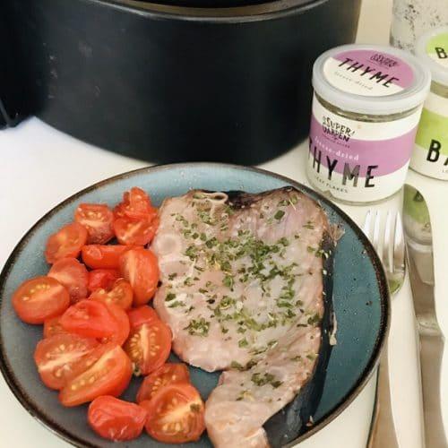 Air Fryer Tuna Steak