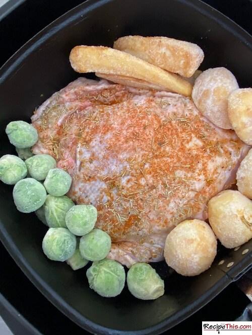 Air Fryer Turkey Thigh Roast