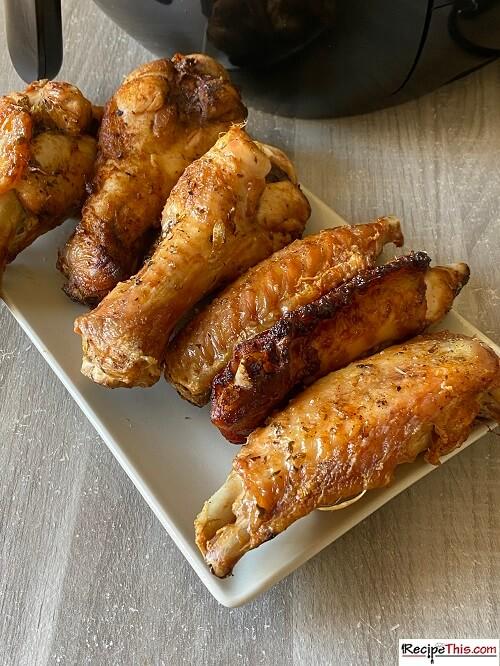 Air Fryer Turkey Wings