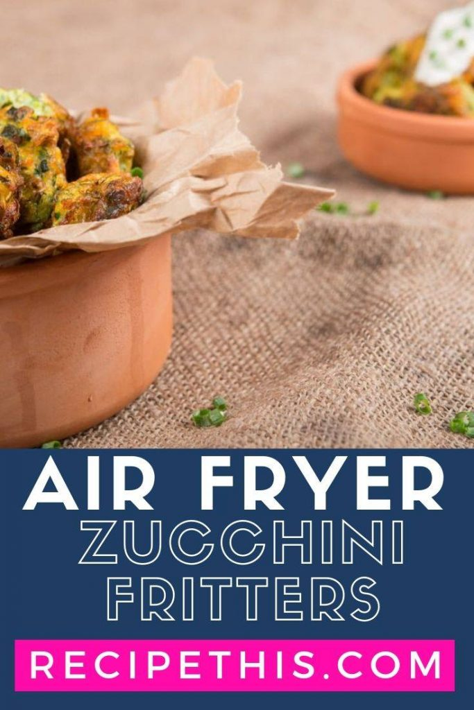 Air Fryer Zucchini Fritters Recipes
