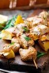 Airfryer Greek Chicken Souvlaki recipe