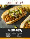 Airfryer Chilli Cheese Dog