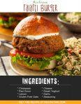 Airfryer Falafel Burger