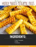 Airfryer Honey Glazed Pineapple Fries