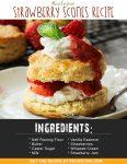 Airfryer Strawberry Scones Recipe