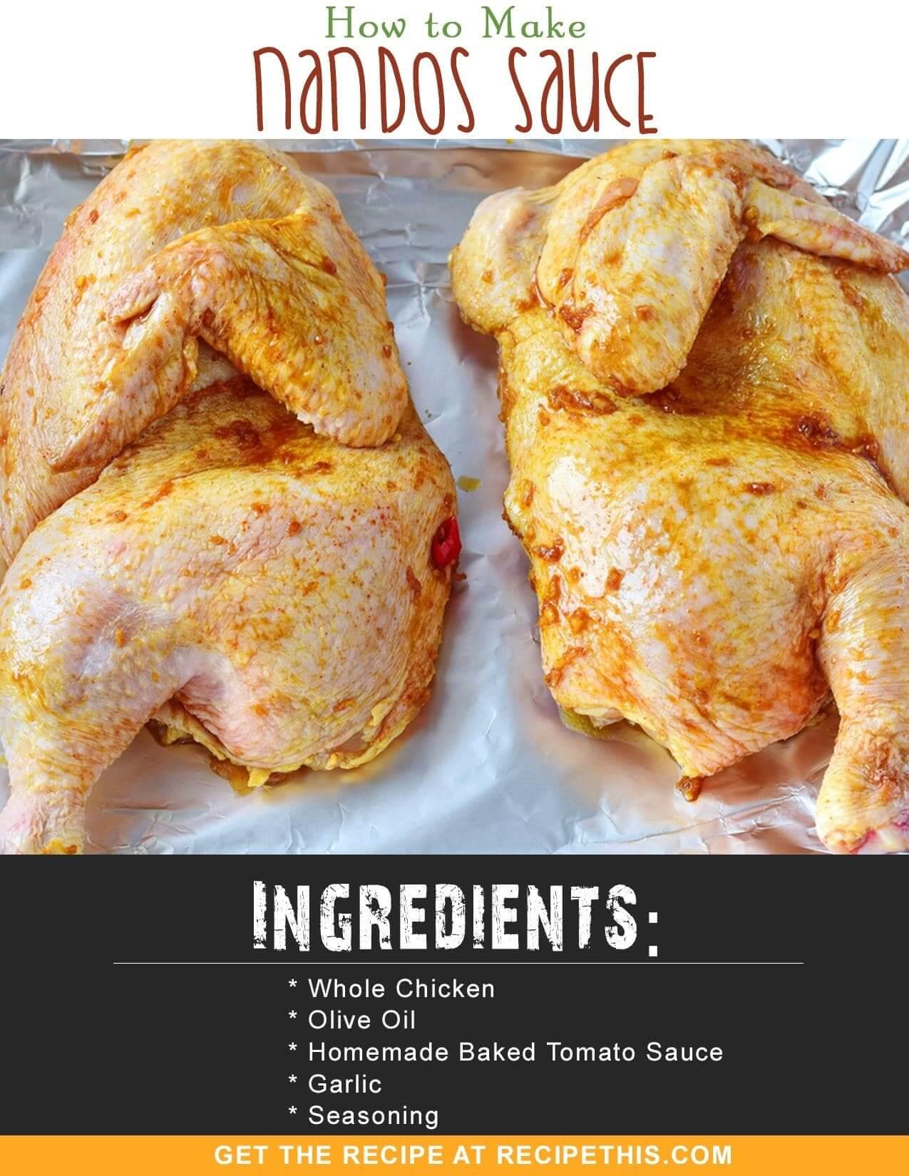 Airfryer Recipes   How To Make Nandos Sauce Recipe from RecipeThis.com