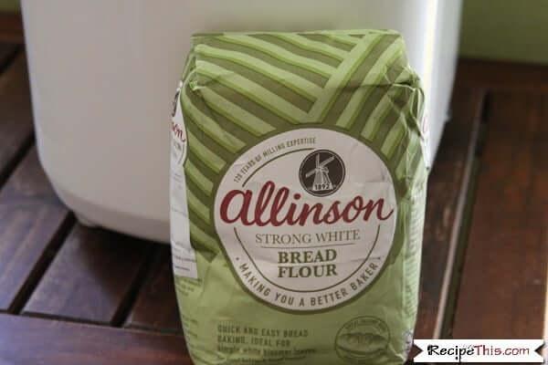 Allinson bread flour in the bread maker