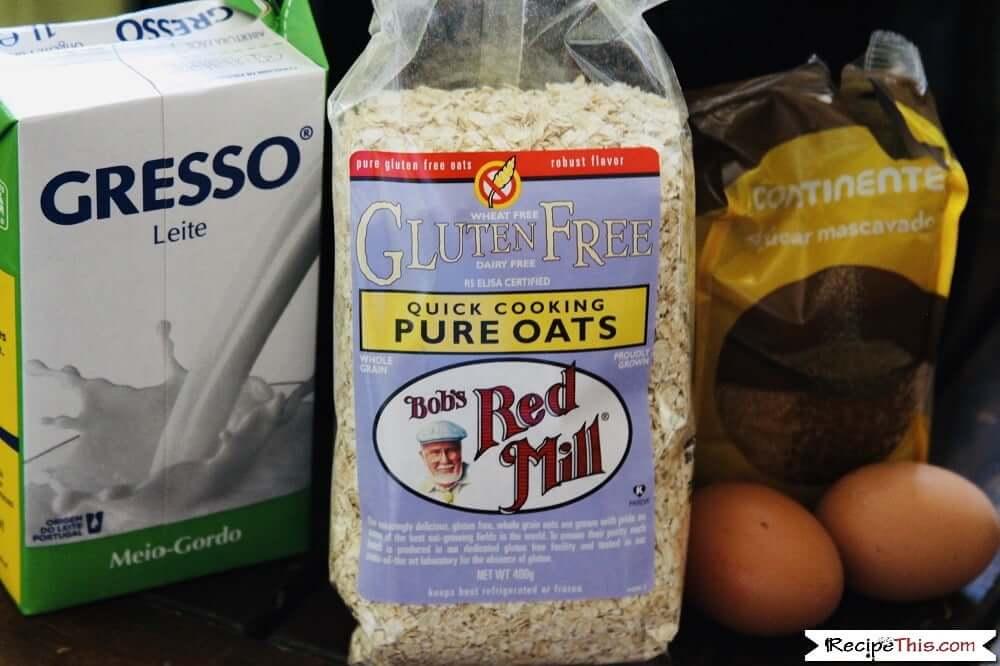 Baked oatmeal gluten free