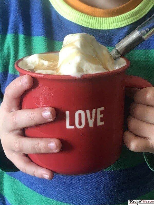 Banana Ice Cream Maker Recipe
