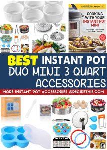 Best Instant Pot Duo Mini 3 quart accessories