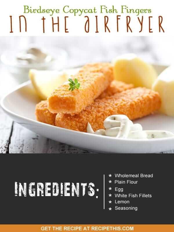 """""""fish fingers recipe"""""""