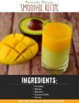 Avocado Mango Smoothie For Babies