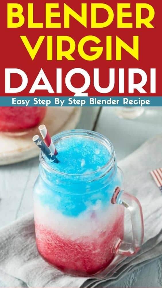 Blender Virgin Daiquiri Blender Recipe